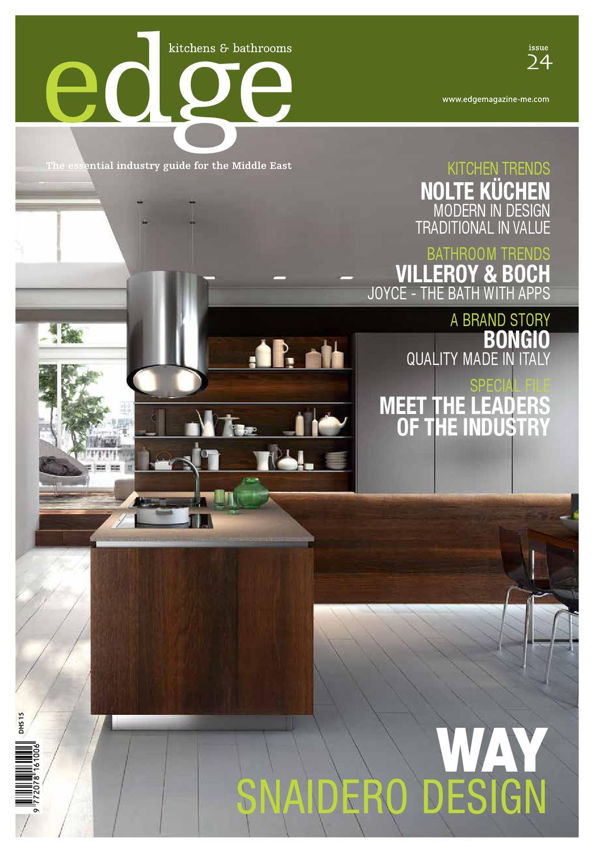 Bathroom Magazine Edge Kitchen & Bathroom Magazine Issue 24Amed  Issuu