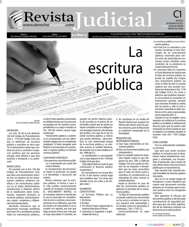 Edición impresa Revista Judicial del 28 de mayo de 2013 by Diario La ...