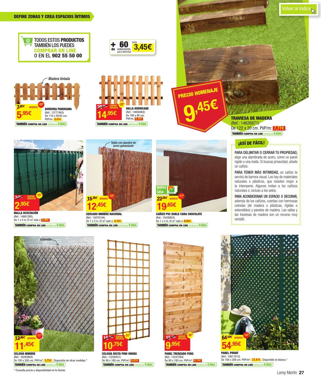 Catalogo de precios leroy merlin by - Celosias pvc leroy merlin ...