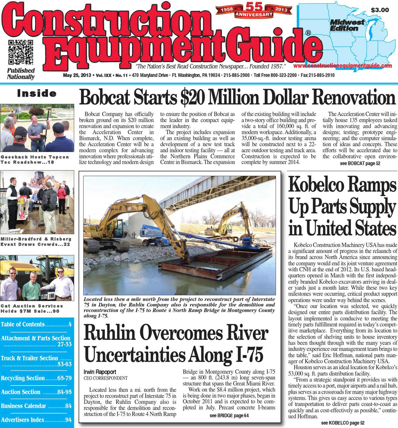 Midwest #11,2013 by Construction Equipment Guide - issuu