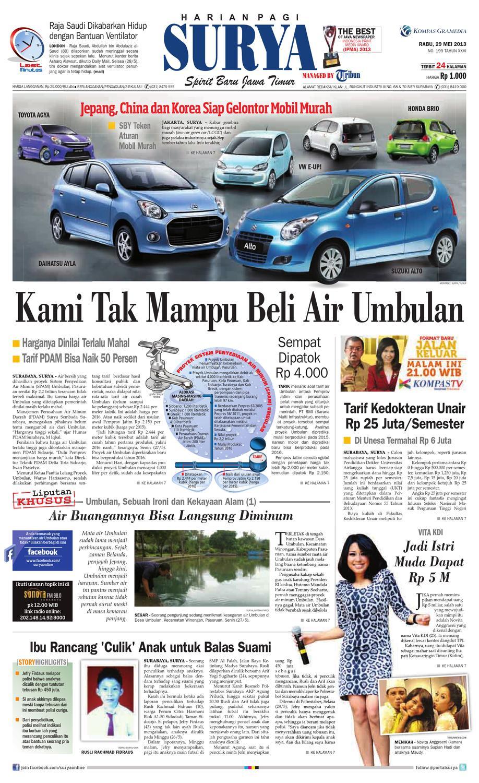 E Paper Surya Edisi 29 Mei 2013 By Harian Issuu Sepatu Olahraga Lari Lokal  Fans Veloz N