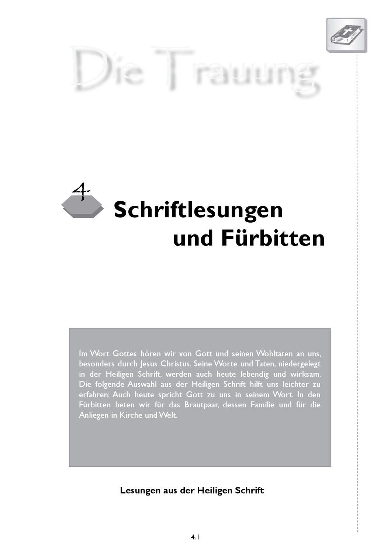 Schriftlesungen Und Fürbitten Zur Trauung Bistum Eichstätt