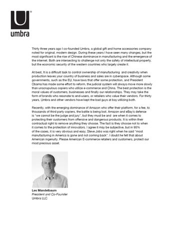 Thirty Three Years Ago I Co Founded Umbra A Global Gift And Home Accessories Company Noted For Original Modern Design During These Have Seen Many