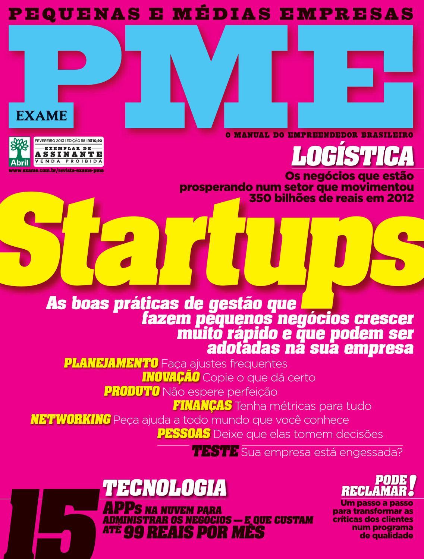 Revista EXAME PME 58 by Revista EXAME - issuu e2ffc17940b
