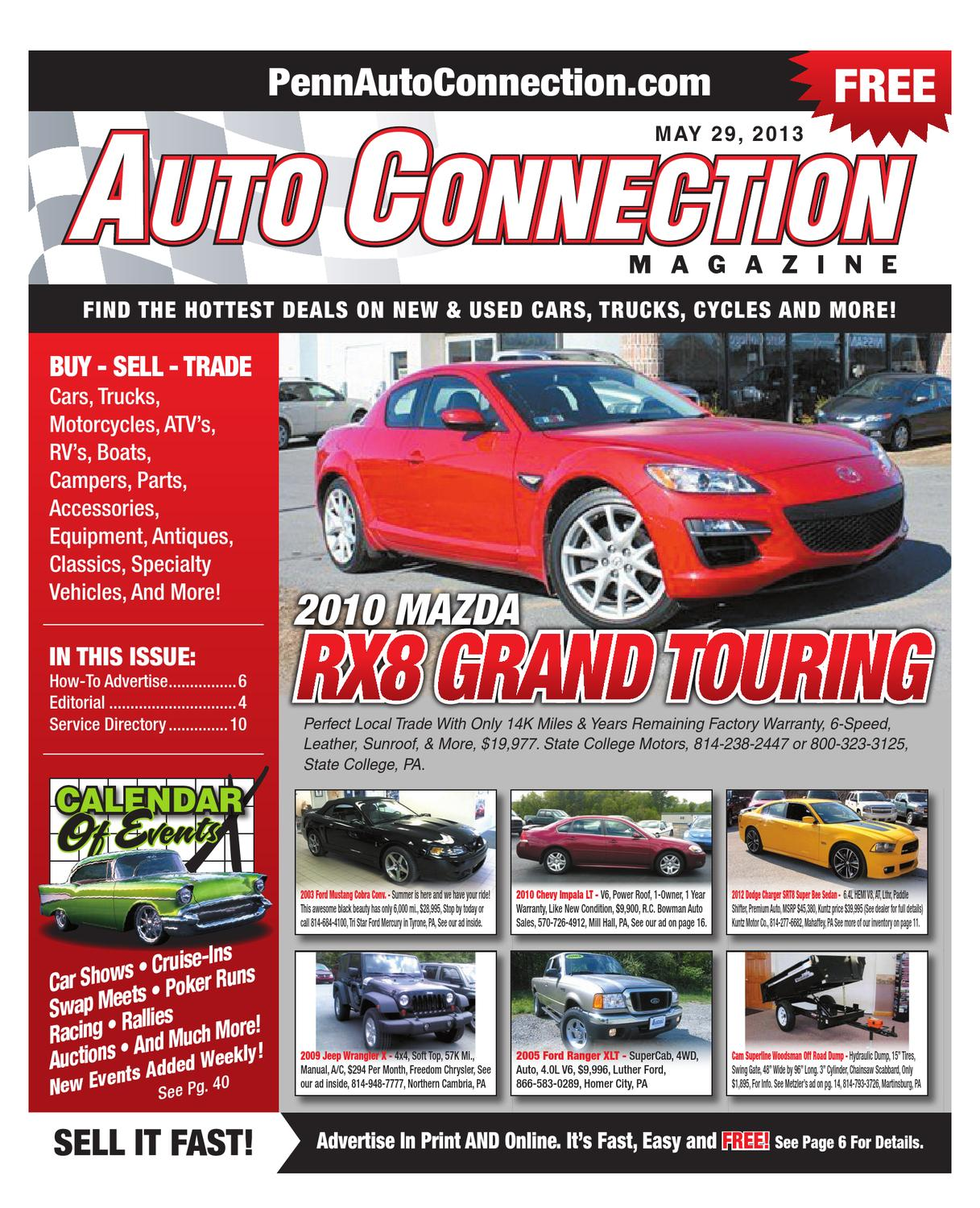 05-29-13 Auto Connection Magazine by Auto Connection