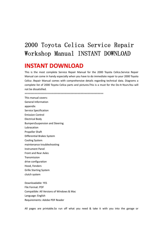 tundra service manual pdf