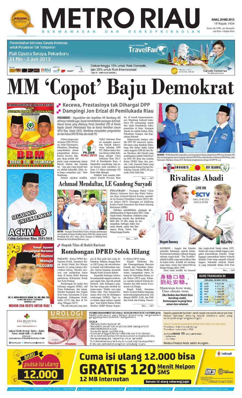290513 By Harian Pagi Metro Riau Issuu Produk Umkm Bumn Lapis Surabaya Panjang Hj Enong