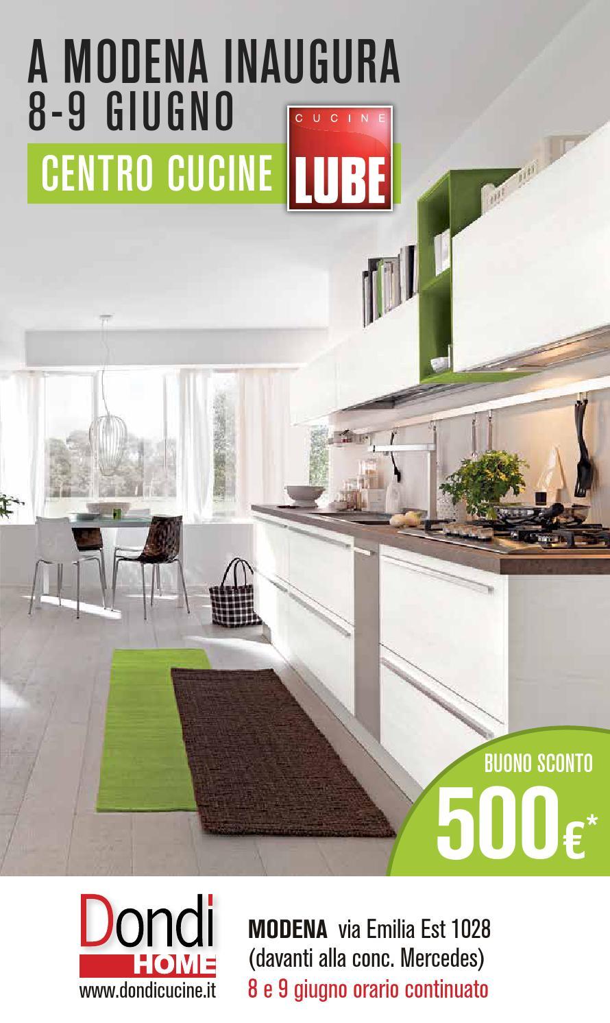 Catalogo centro cucine modena by pierpaolo dondi issuu - Centro cucine lube ...