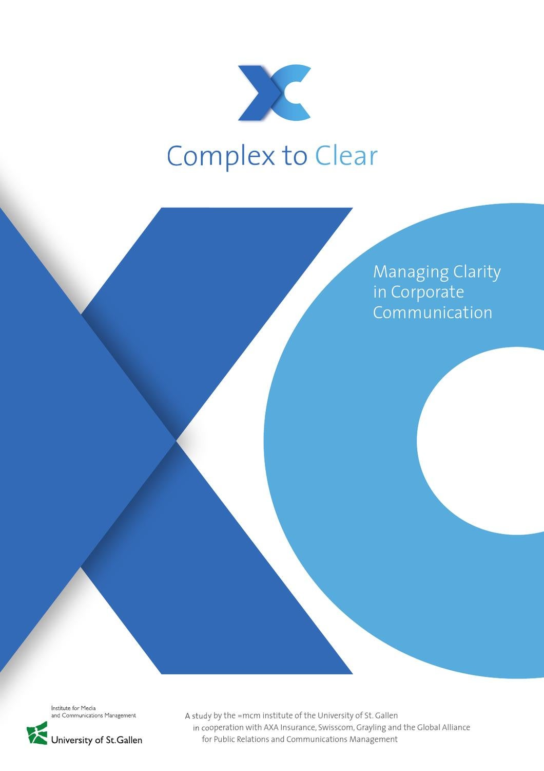Complex to Clear - Managing Clarity in Corporate Communication by =mcm  institute for media and communications management - issuu