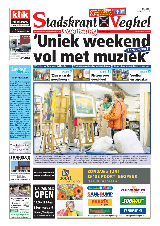 stadskrant veghel week 22 2013 by uitgeverij talvi issuu