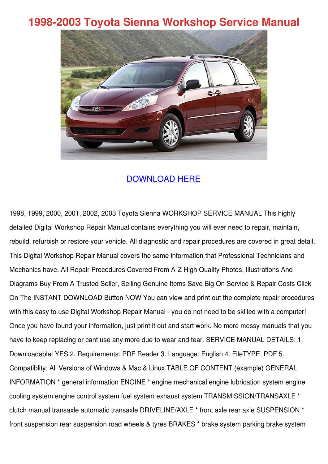 Toyota Sienna Service Manual: Stop light switch