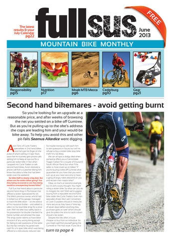 Fantastic Full Sus Mtb Monthly June By Full Sus Mtb Issuu Caraccident5 Cool Chair Designs And Ideas Caraccident5Info