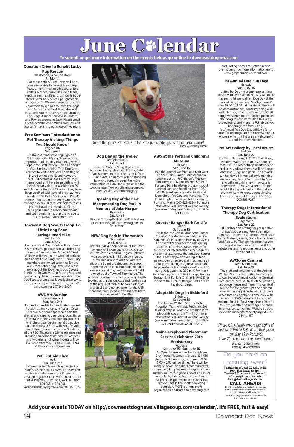 Downeast Dog News June 2013 by Downeast Dog News - issuu