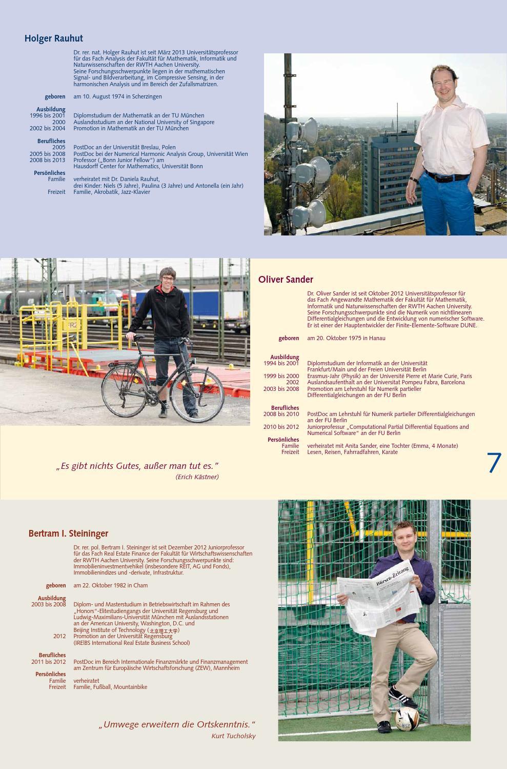 RWTHInsight 1/2013 by RWTH Aachen University - issuu