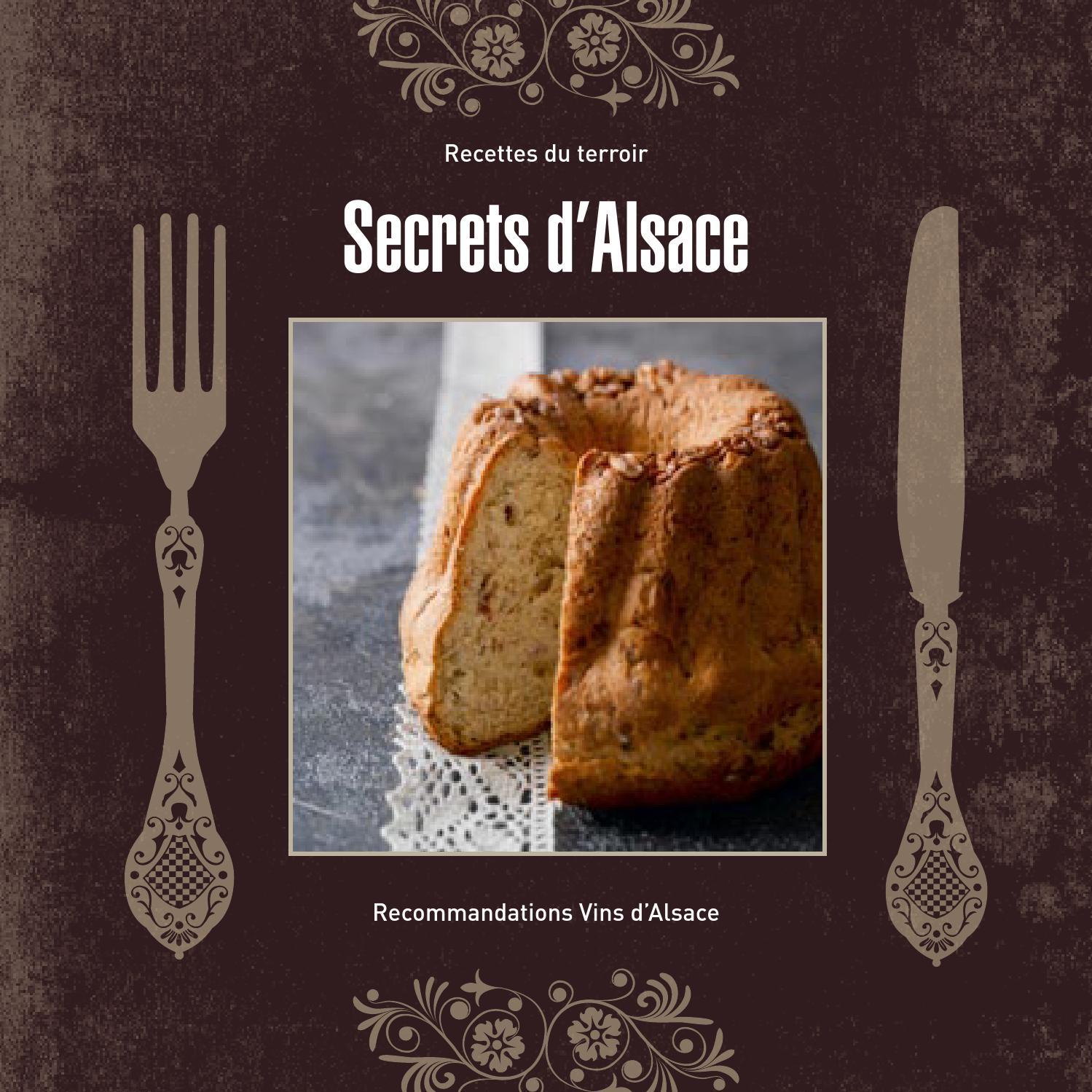 Recettes du terroir secrets d 39 alsace by vinsalsace issuu - Cuisine belge recettes du terroir ...