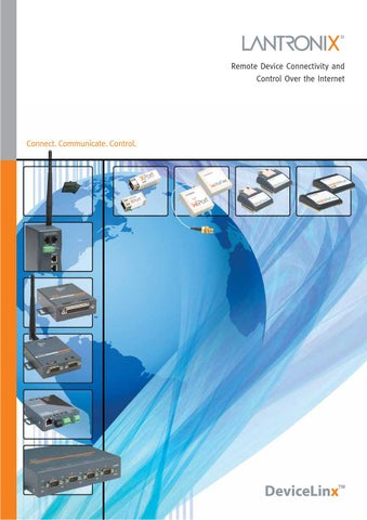 Lantronix CoBox-FL-IAP External Device Server Standard Tunnel Driver