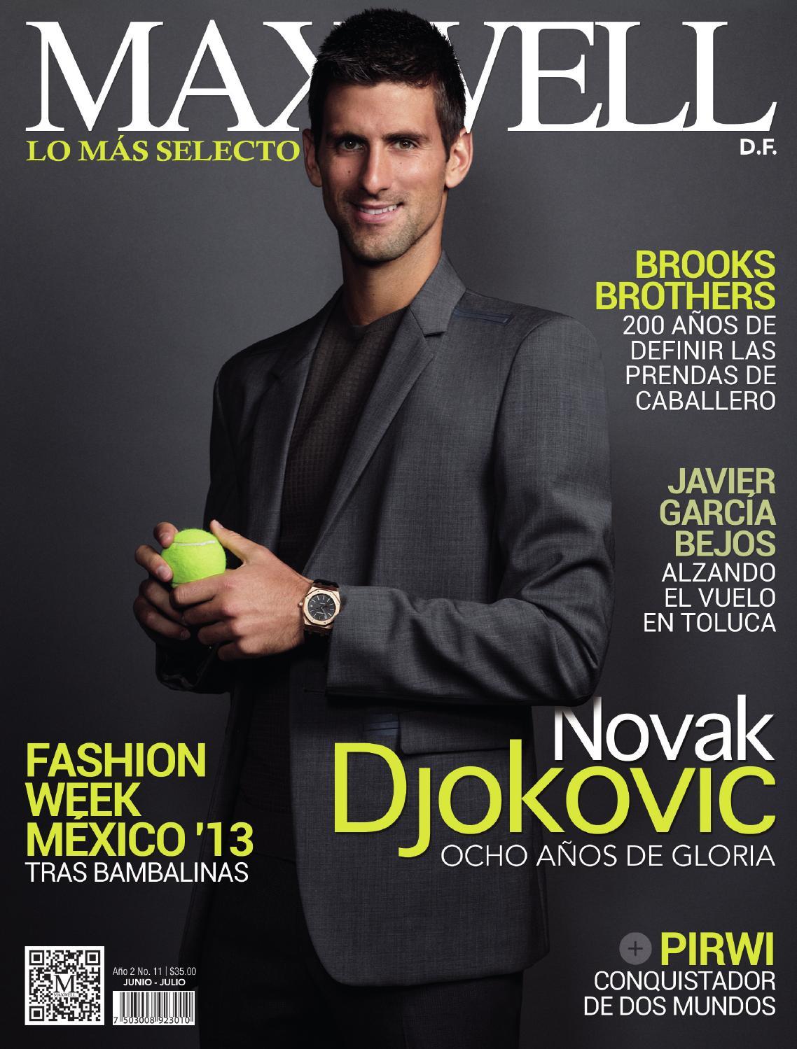 Revista Maxwell M U00e9xico Ed 11 By Grupo Editorial Maxwell