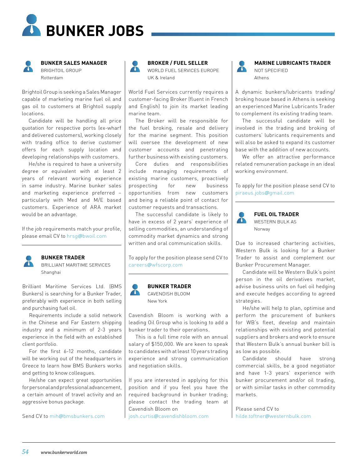 Bunker Bulletin, Feb 2013 Edition by Petromedia Ltd - issuu