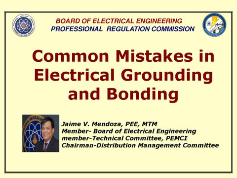 Significant changes to the philippines electrical code 2009 common mistakes in electrical grounding and bonding 1 keyboard keysfo Choice Image