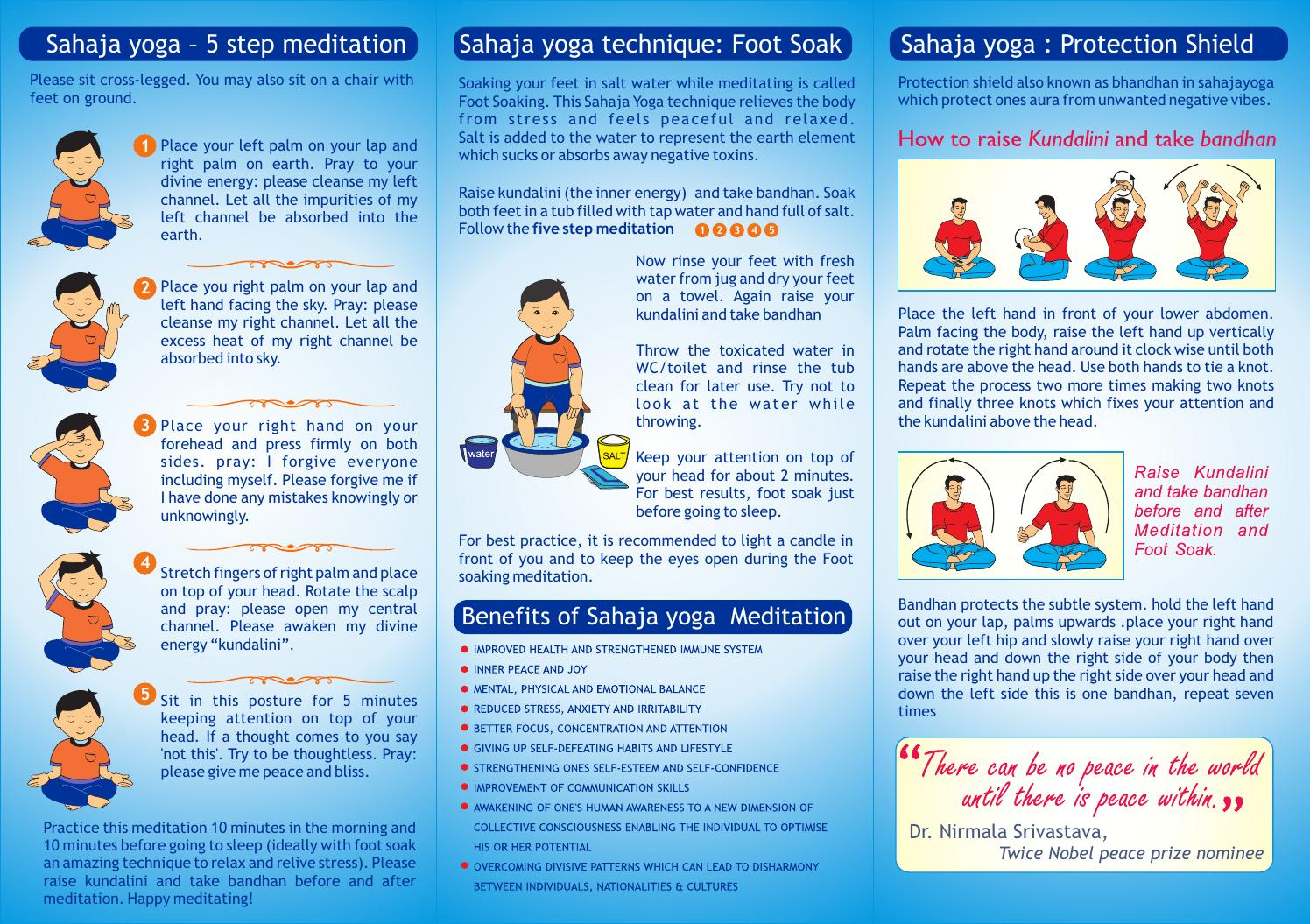 Kids Leaflet By Sahaja Yoga Meditation Issuu