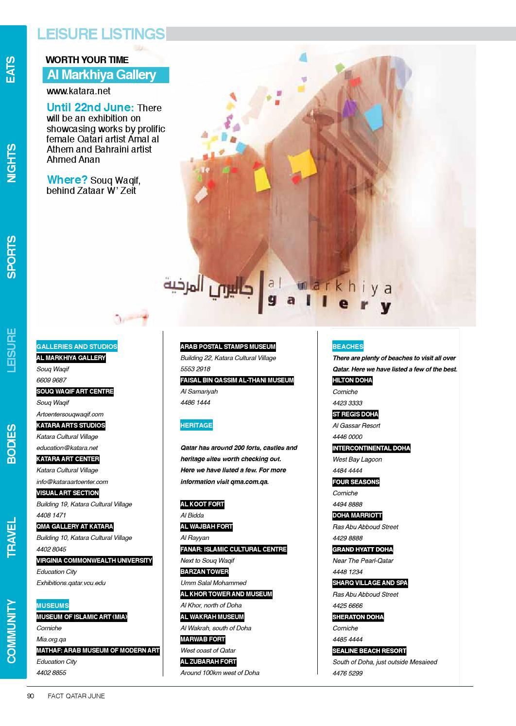FACT Qatar June 2013 by Fact Magazine - issuu