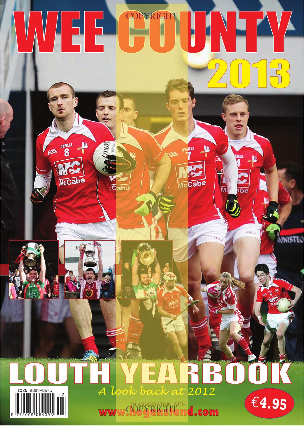 626464a2d Wee County Louth Yearbook 2013 by Lynn Group Media - issuu