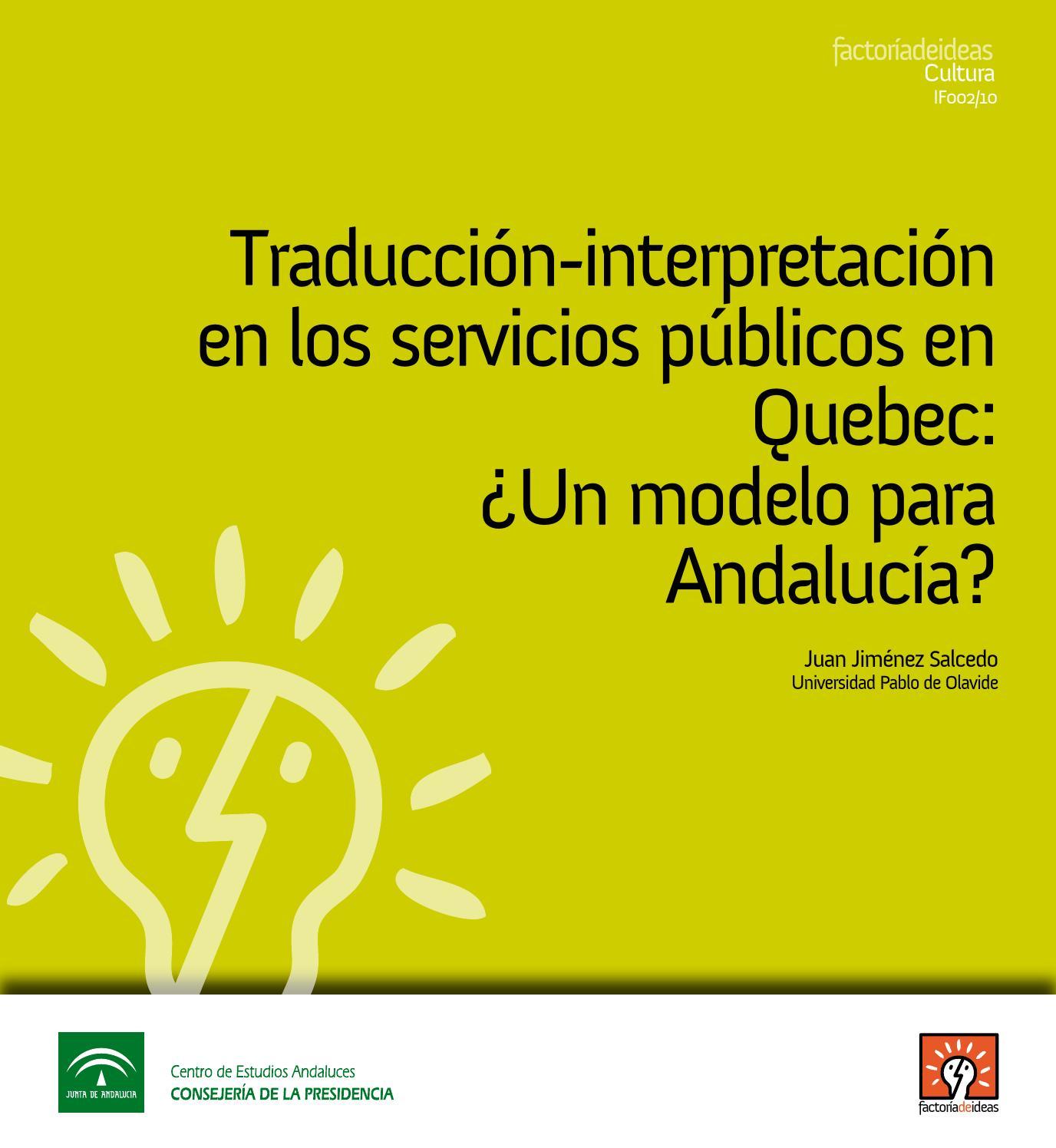 Traducción-interpretación en los servicios públicos en Quebec: ¿un ...
