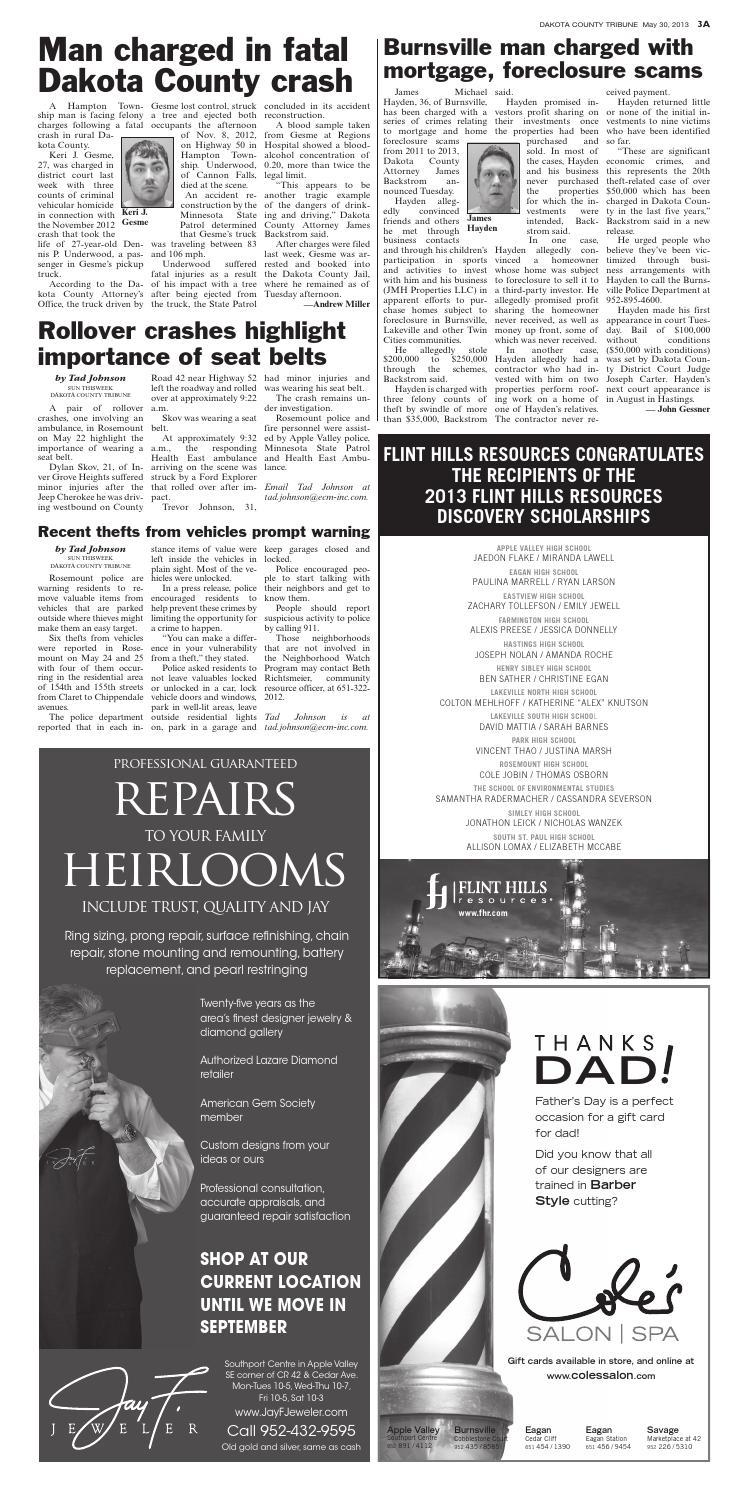 Dct 5 30 13 by Dakota County Tribune - issuu