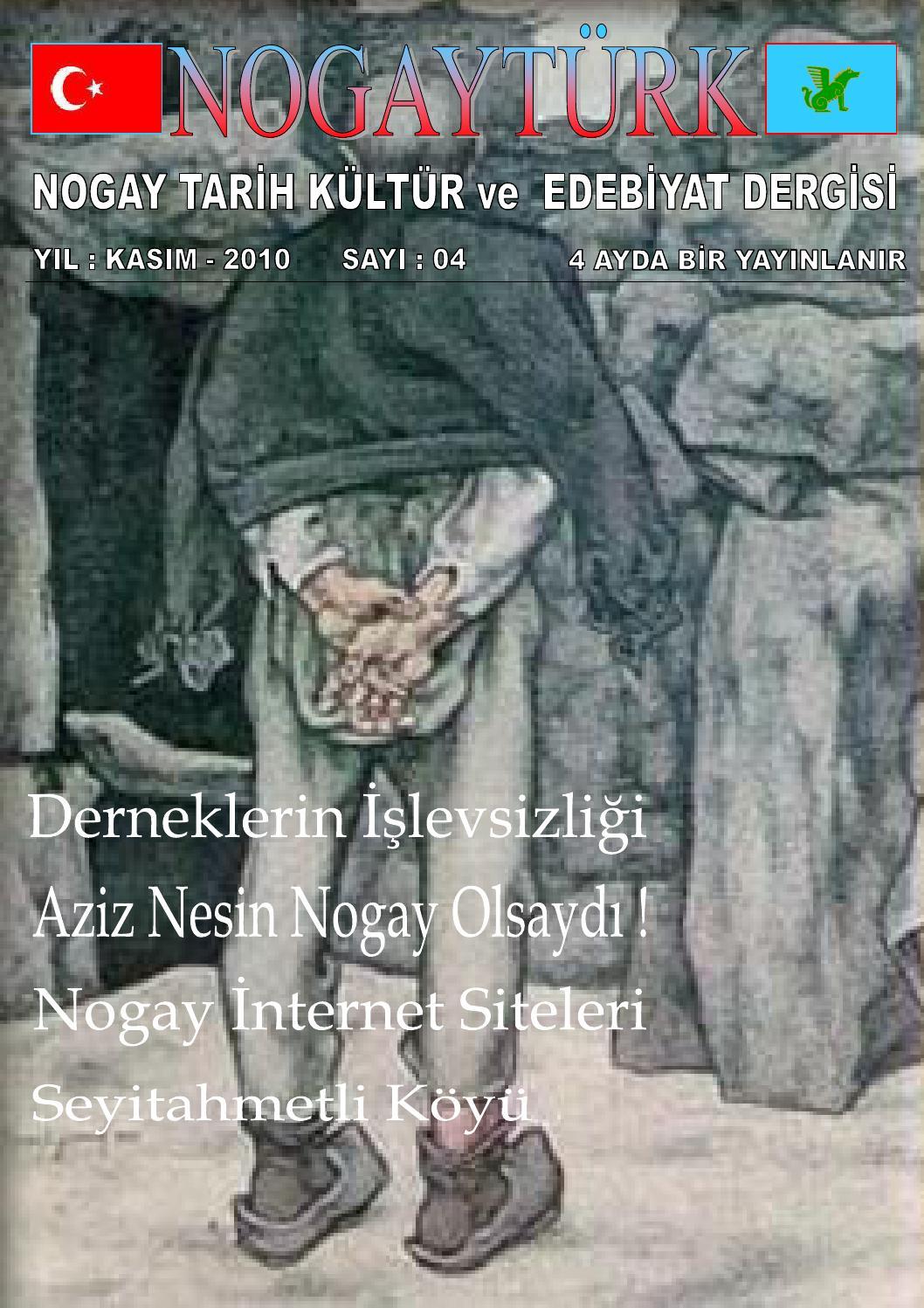 Nogayturk Dergisi 4 sayi by NogayTürk Dergisi - ISSN : 2148