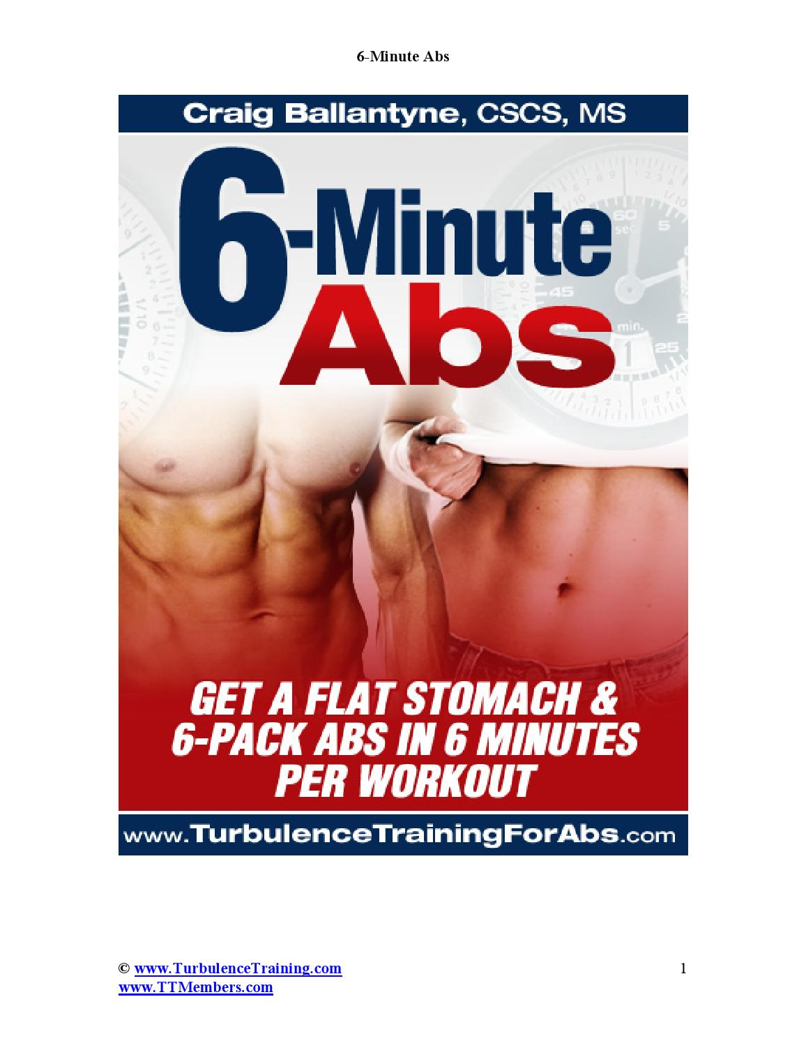 6 Minute Abs By Unlike Heart Issuu