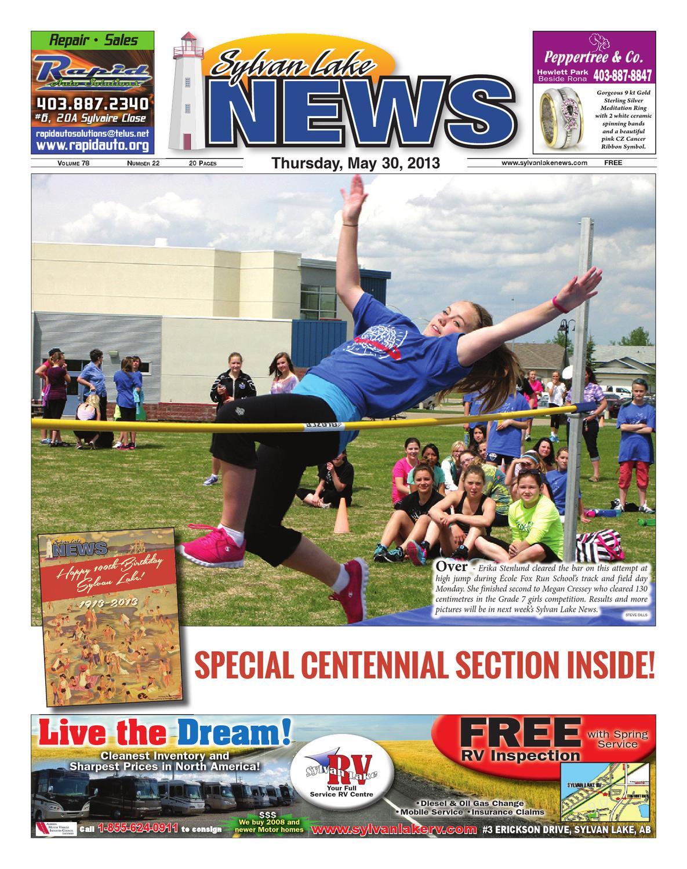 Sylvan Lake News, May 30, 2013 by Black Press Media Group