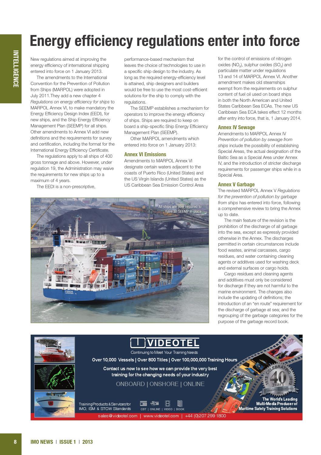 IMO News - Issue 1 - 2013 by IMO News Magazine - issuu