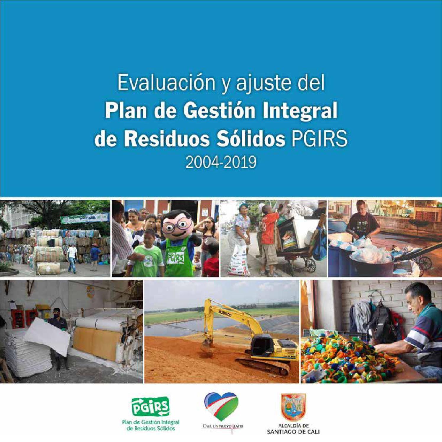 Plan de gesti n integral de residuos s lidos pgirs 2004 for Oficina xestion de multas concello de santiago