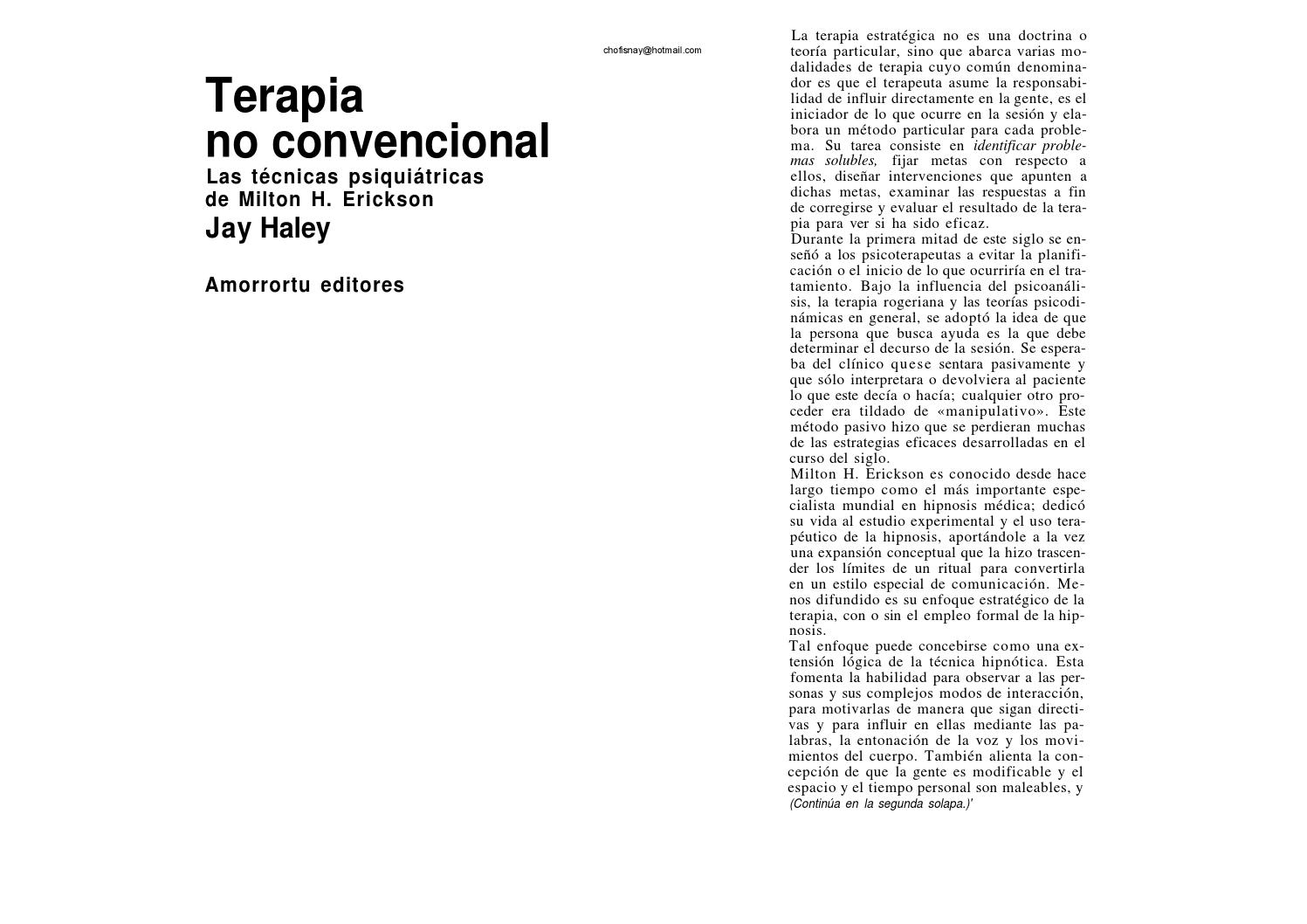 56280792 jay haley terapia no convencional by Charly Udl - issuu