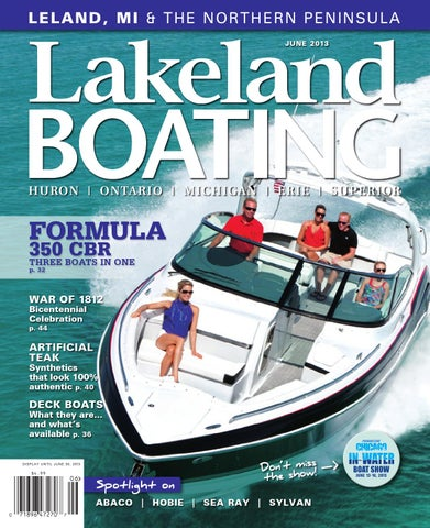 Lakeland Boating June 2013 by Lakeland Boating Magazine - issuu