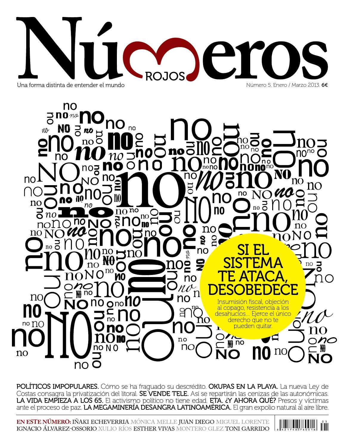 Revista Números Rojos 005 by Revista Números Rojos - issuu
