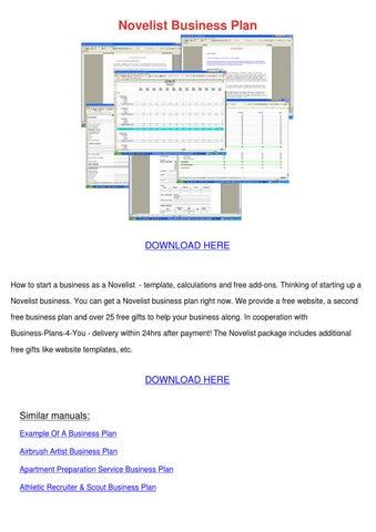 how to become a novelist pdf