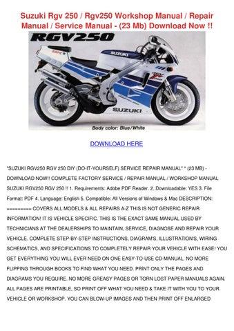 suzuki gsx 400 1981 1999 factory service repair manual download pdf