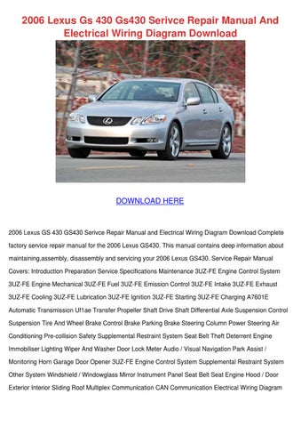 2004 lexus rx330 owners manual pdf