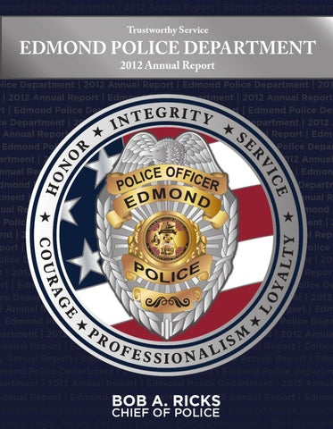 Edmond Police Department 2012 Annual Report by City of Edmond - issuu