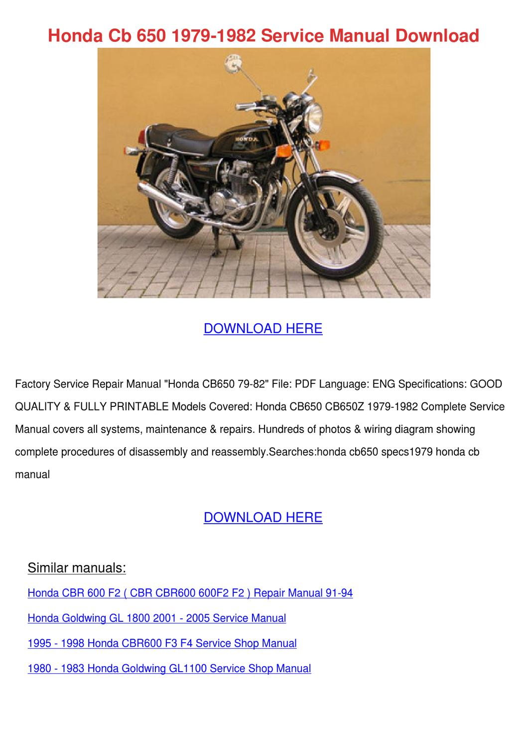 each them format cyclepedia 1983- cb650sc nighthawk printed features  detailed black white photographs wiring diagrams, introduction chapter  engine,