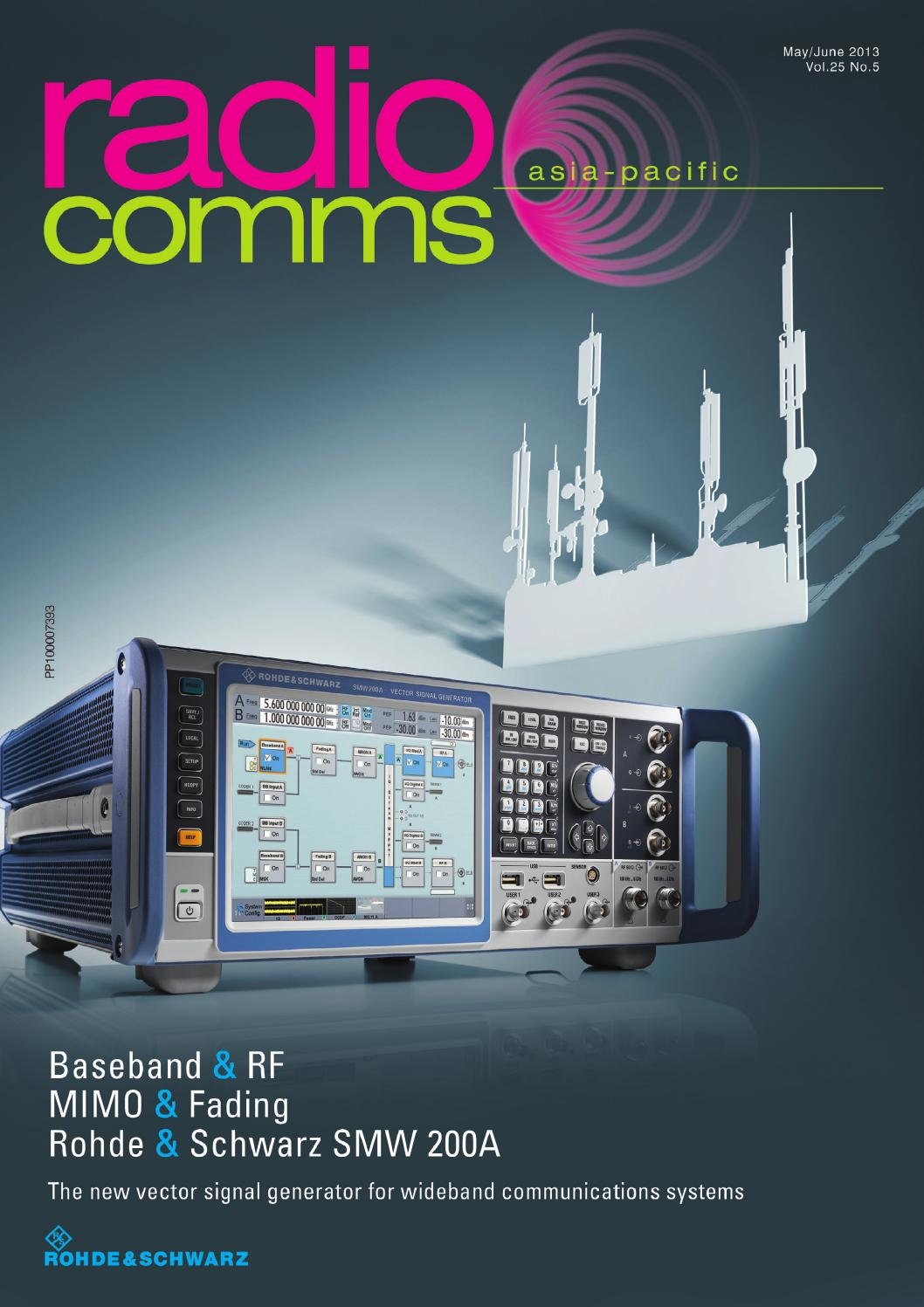 RadioComms Asia-Pacific May/June 2013 by Westwick-Farrow Media - issuu