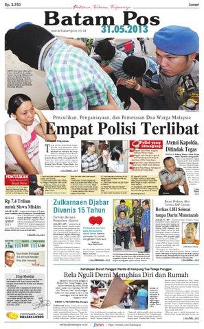 31 Mei 2013 by Batampos Newspaper - issuu 536402e5bd