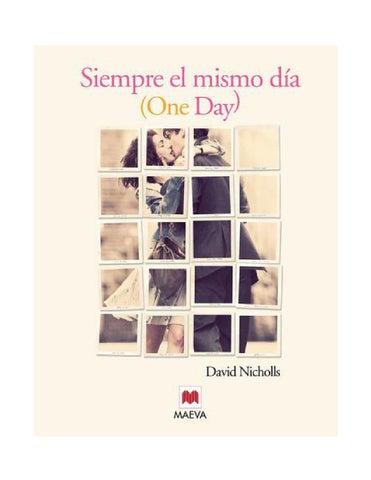 9a1bca0ce One day david nicholls by cintia garcia - issuu