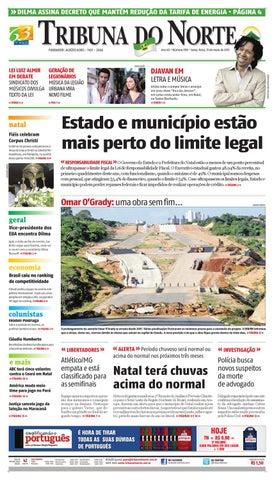 Tribuna do Norte - 31 05 2013 by Empresa Jornalística Tribuna do ... aa23917f43
