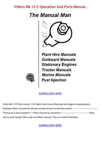 villiers engine manual mk 10 ebook
