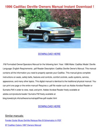 fender highway one owners manual pdf