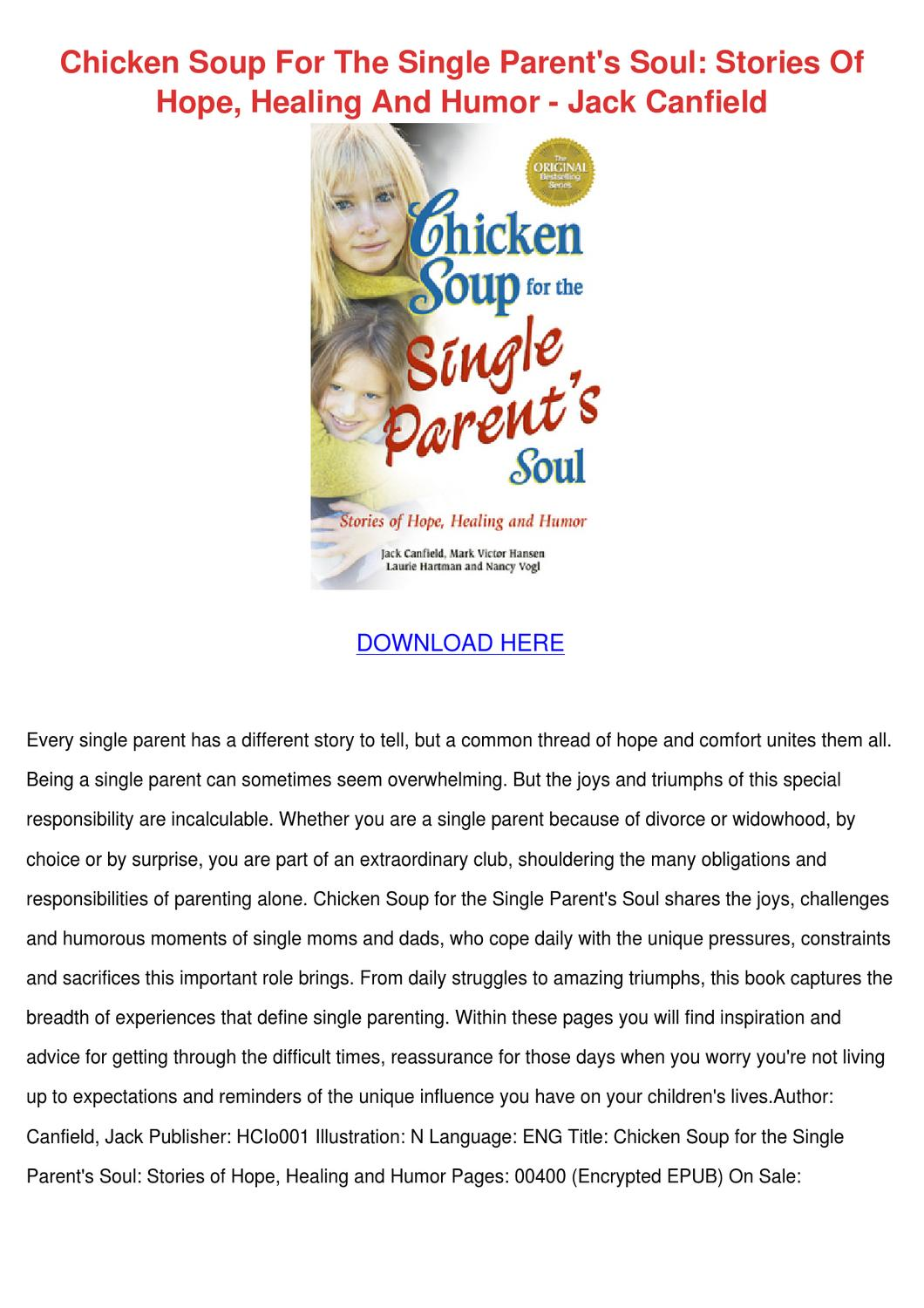 chicken soup for the teenage soul pdf download