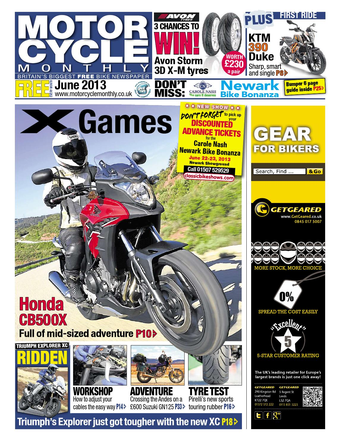 Motor Cycle Monthly August 2014 Full Edition By Mortons Media 2002 Bmw R1150 Gs Instrument Cluster Fuse Box Diagram June 2013
