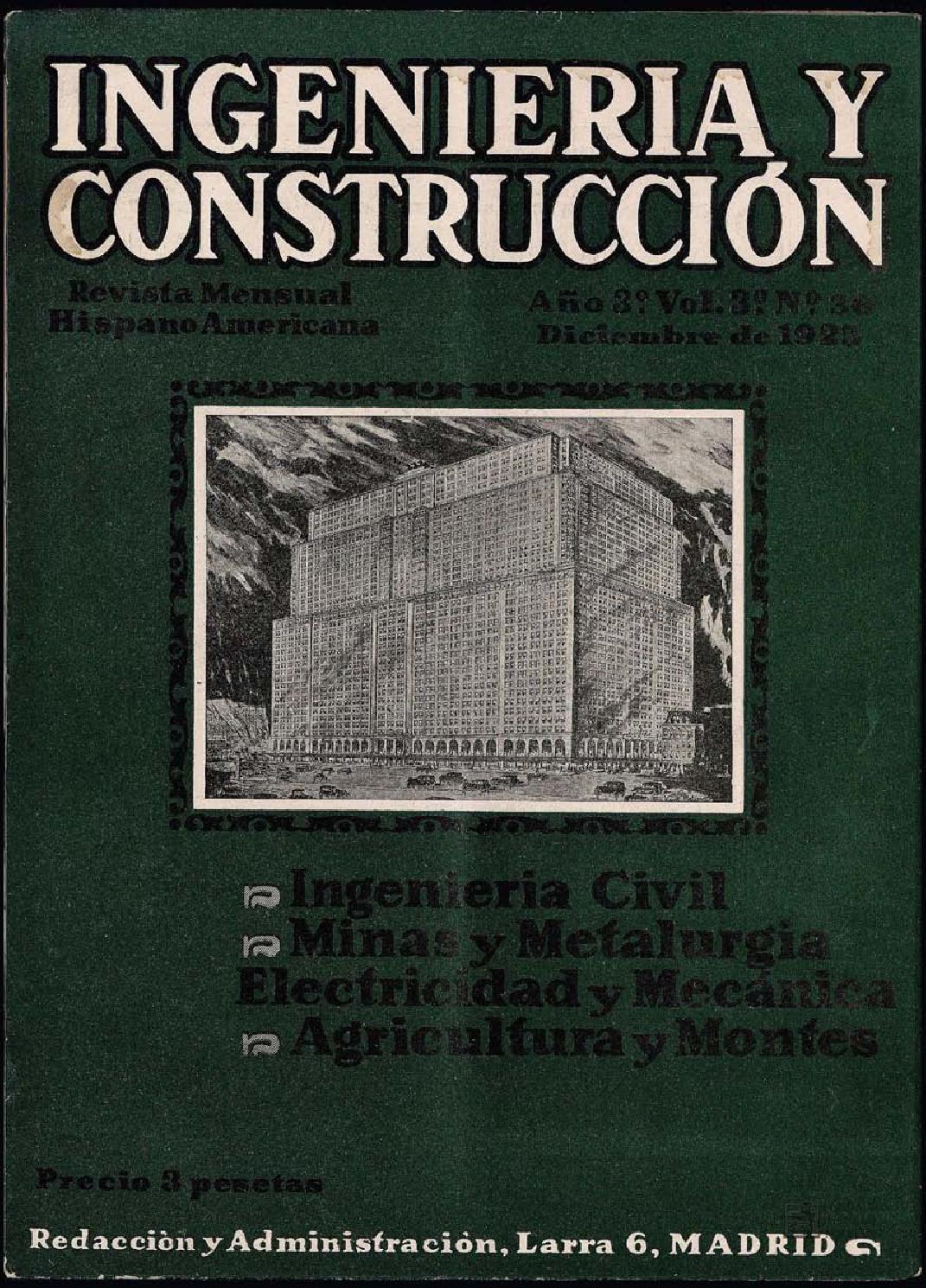 Revista Ingeniería y construcción - Diciembre 1925 by FUNDACIÓN JUANELO  TURRIANO - issuu fdb29d5ed0a8